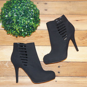 Madeline Girl Black Stiletto Booties